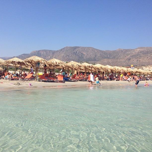 Elafonisi Beach , Crete