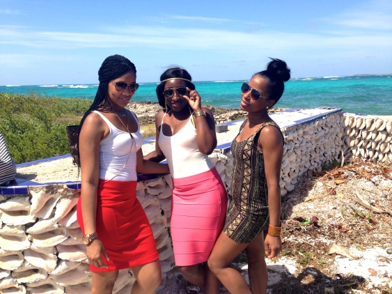 BestFriends & I , Scilly Cay Island
