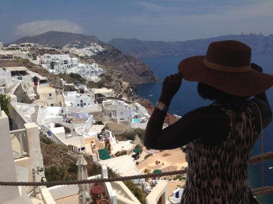 Overlooking Oia