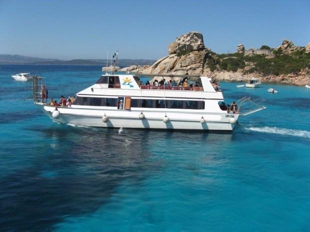 Spaghetti Boat cruise, La Maddalena