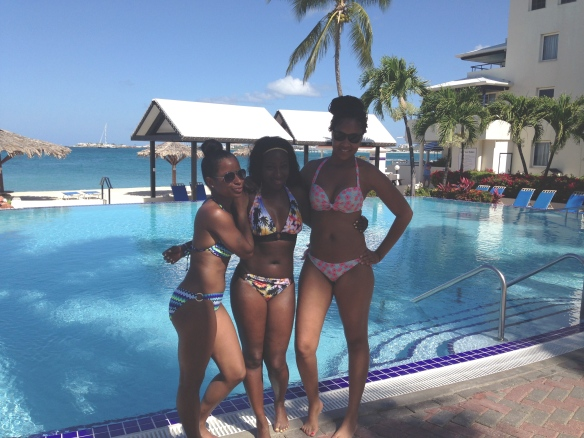 Best Friends And I , Flamingo Beach Resort